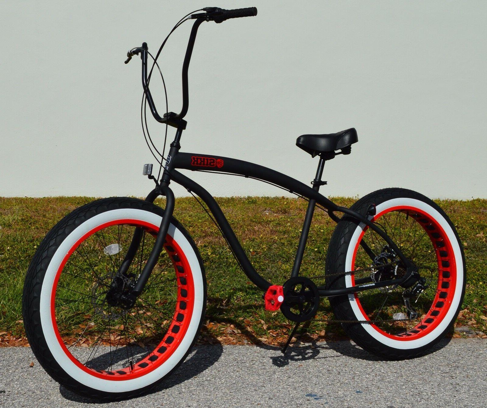 Fat Bike SIKK w Rim Tires 7
