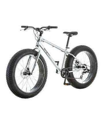 "Mongoose Men's Fat Tire Bike 26"" Beach Cruiser Malus Bicycle"