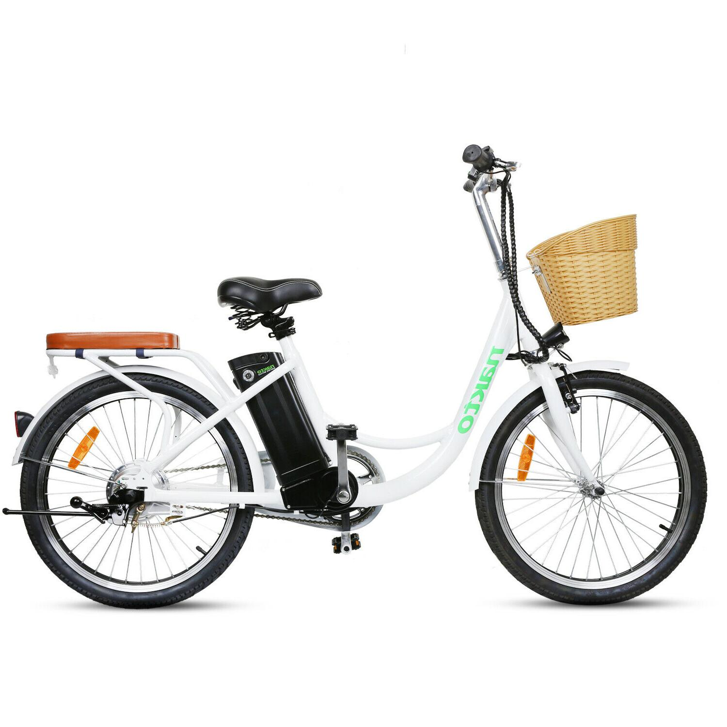 fat tire electric bicycle beach