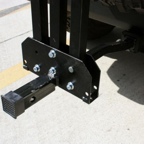 "Foldable 2 Bike Hitch Rack 1-1/4"" 2"""