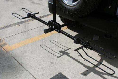 "Foldable Bike Hitch Rack 2"" Receiver"