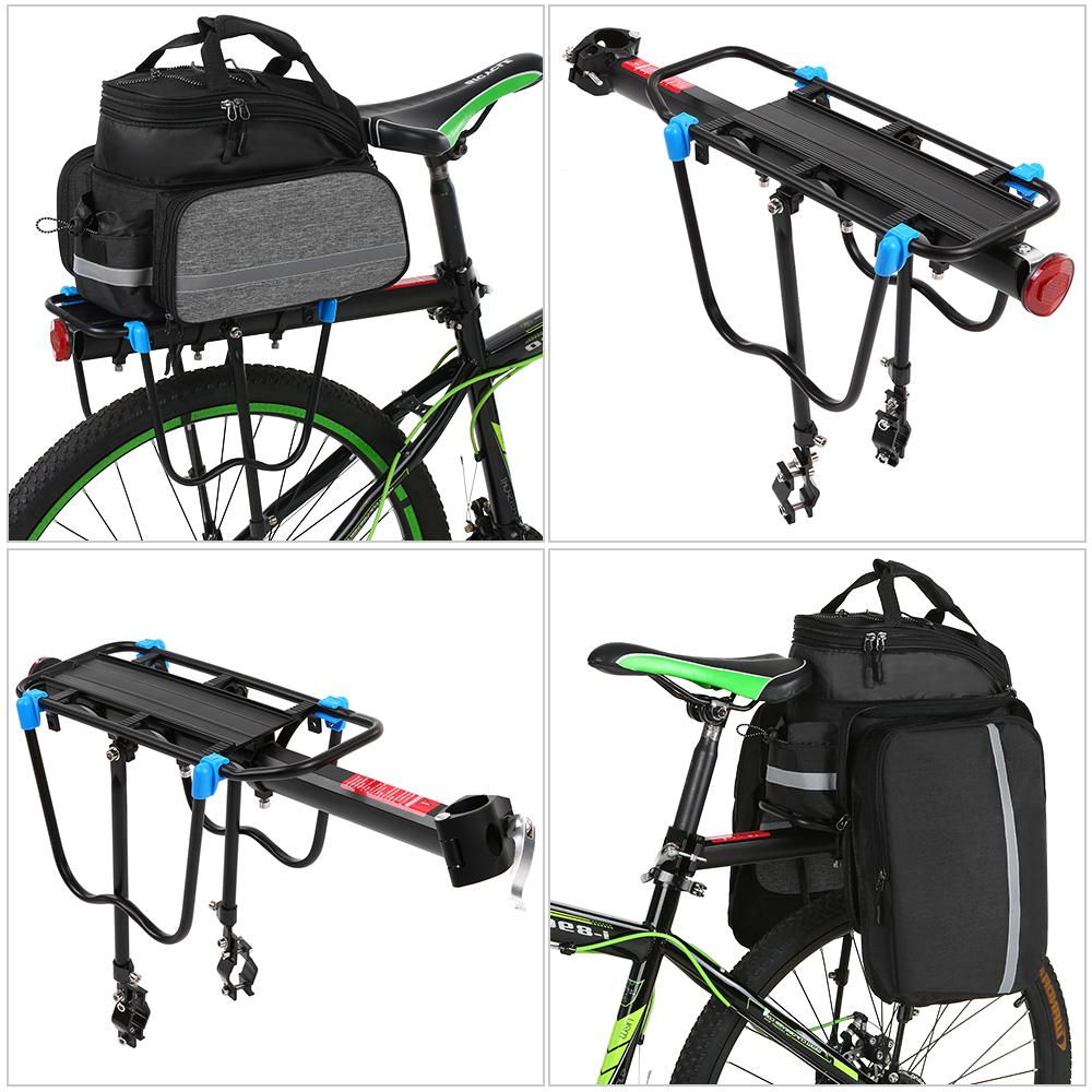 <font><b>Bike</b></font> Bicycle Release Luggage cargo Seat Post Carrier Rear Rack bicycle accessories