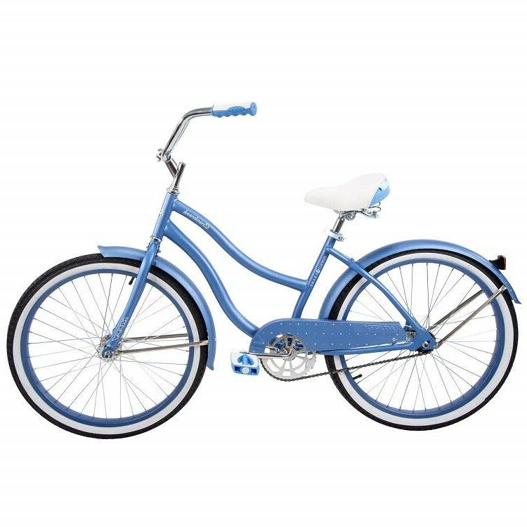 Girls Bike 24 Cruiser Bicycle Huffy Perfect Fit Ride