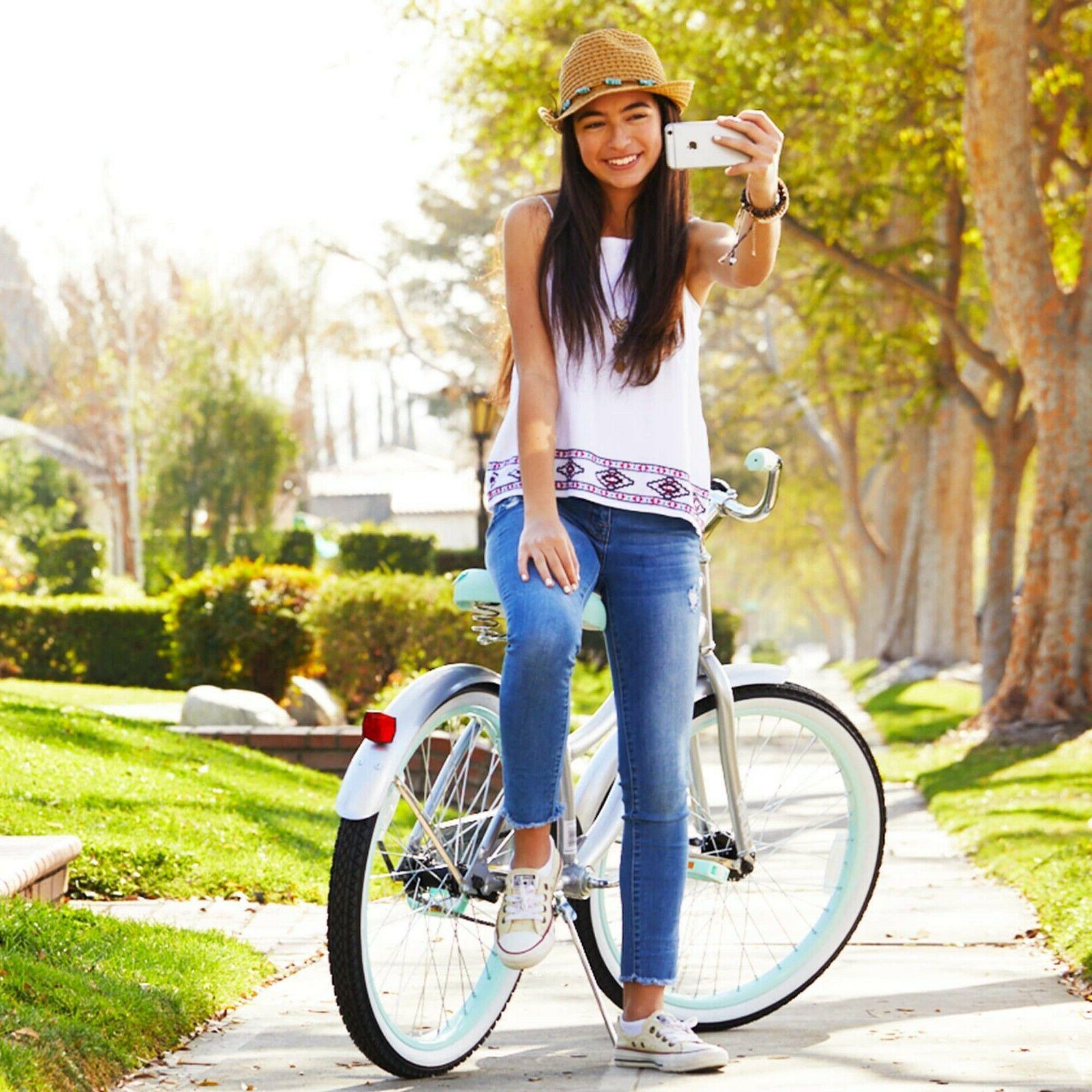 girls cruiser bicycle 24 bike perfect fit