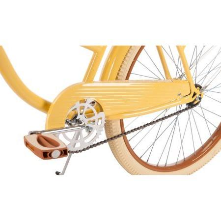"Goof for 26"" Lusso Cruiser Bike, Banana, Padded with Embroidery"
