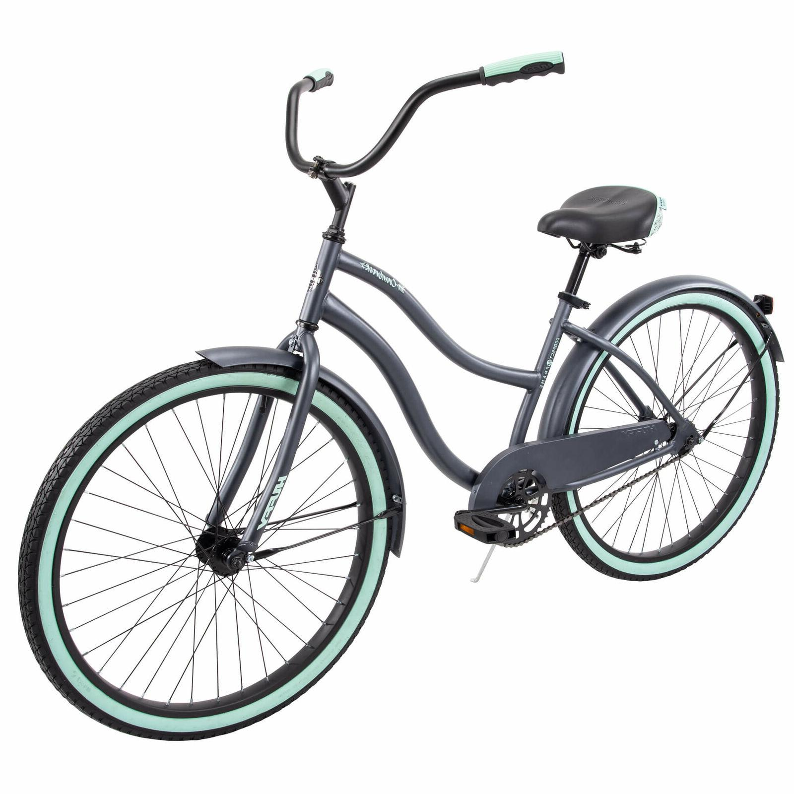 Gray Commuter Bicycle Fit Frame