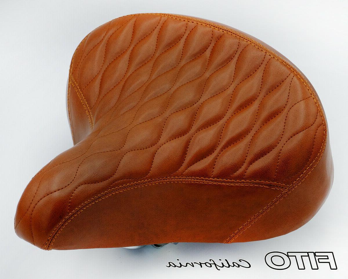 gs oversize bicycle seat saddle cruiser comfort