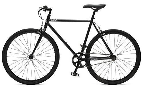 Retrospec Critical Single-Speed Gear Urban Commuter Black