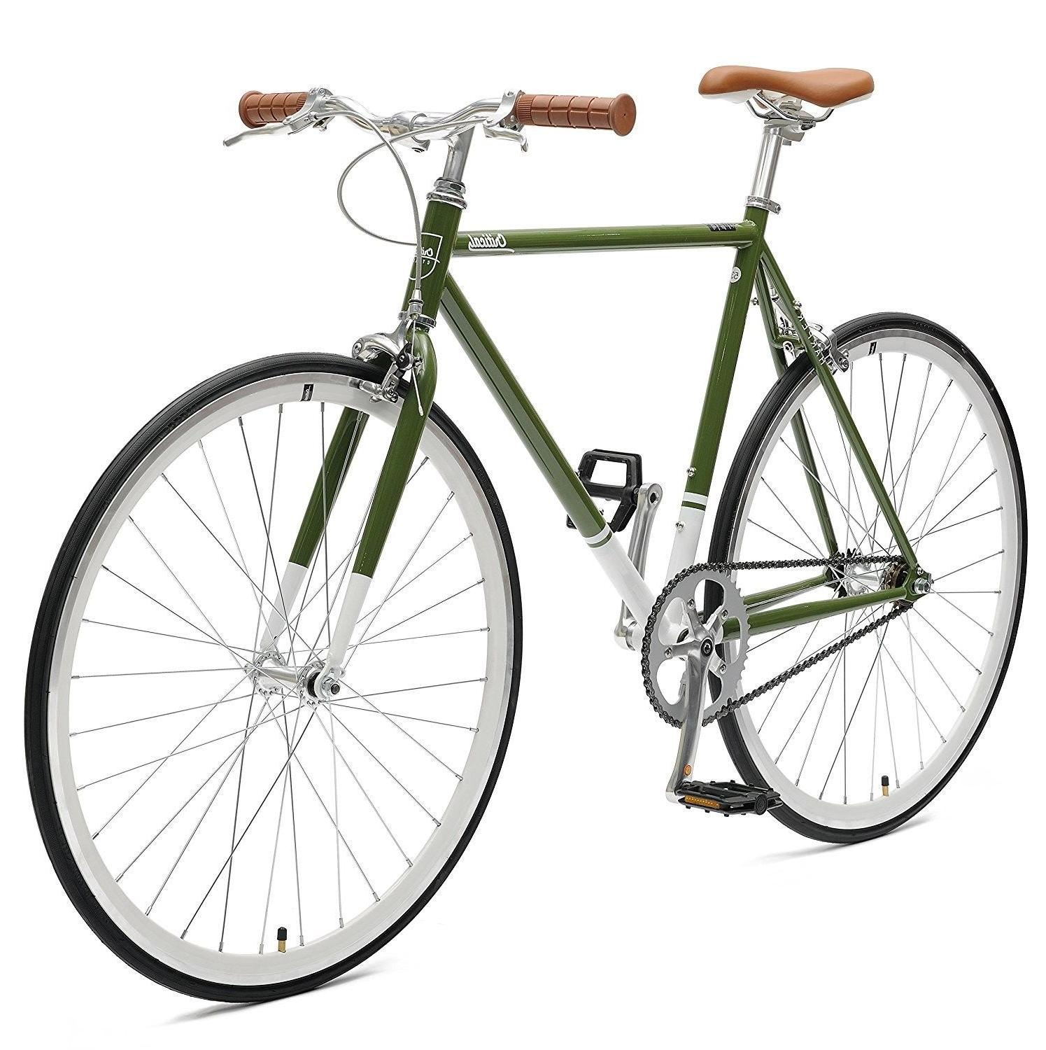 Critical Cycles Harper Fixed Gear Bike, Sage Green