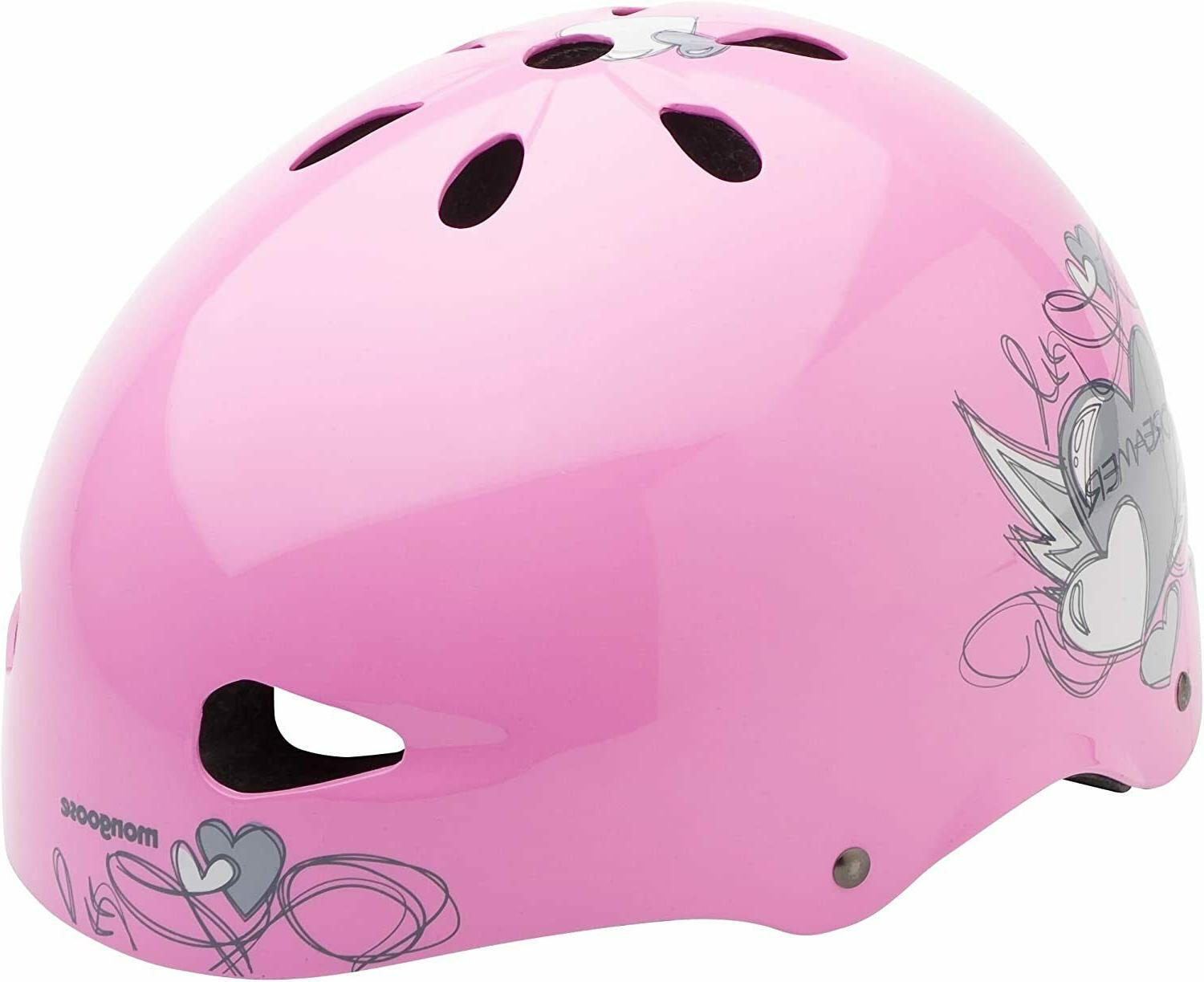 Mongoose Heart Youth Street Helmet
