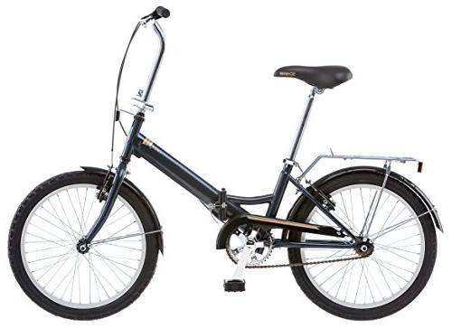 "20"" Schwinn Unisex Folding Gray"