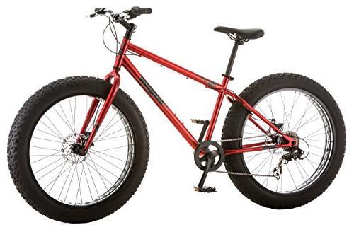 "26"" Mongoose All-Terrain Bike, Red"