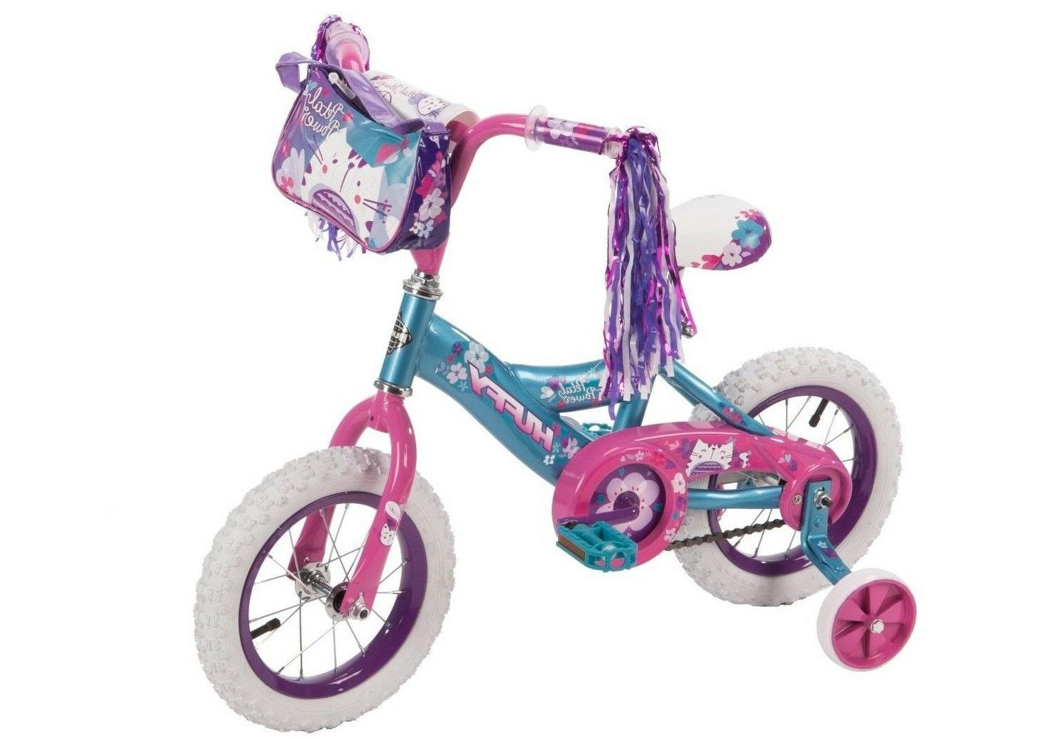 huffy petal power girls bike ages 3 5 height 37 42
