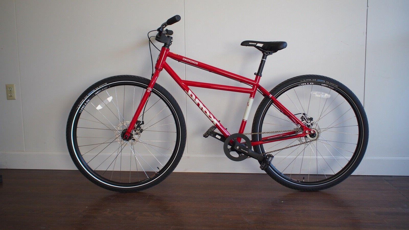 humuhumu 29er bmx cruiser bicycle small red