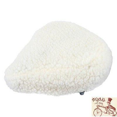 imitation sheepskin padded bicycle seat