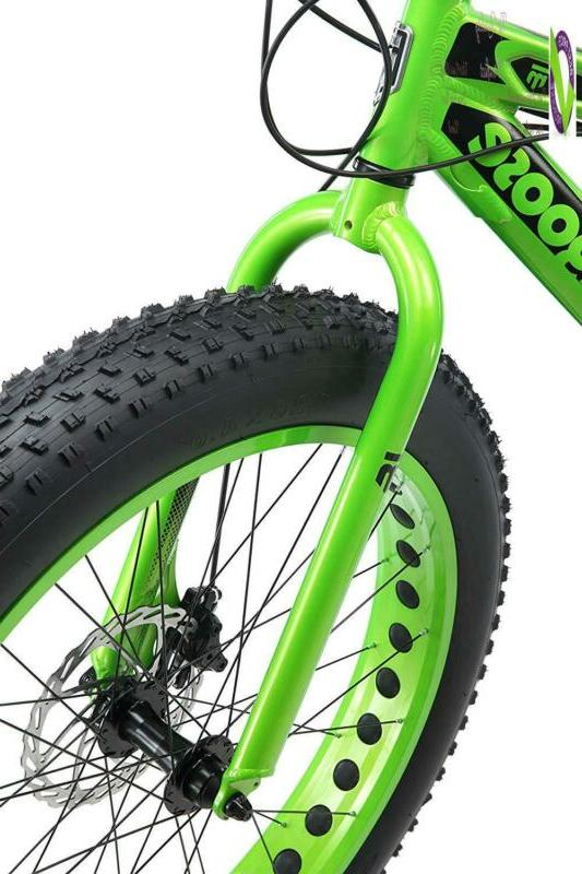 Mongoose Juneau Tire Bicycle Frame Size