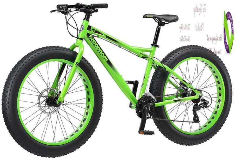 "Mongoose Juneau 26"" Tire Green, Medium Frame Size"