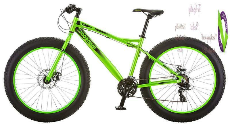 juneau 26 fat tire bicycle green medium