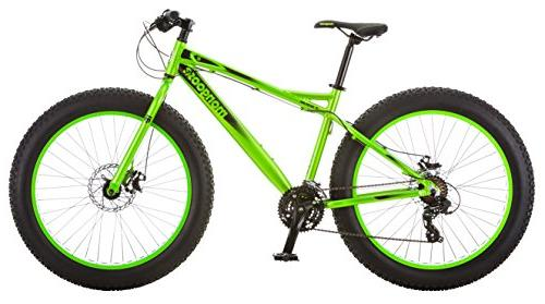 juneau fat tire bicycle green