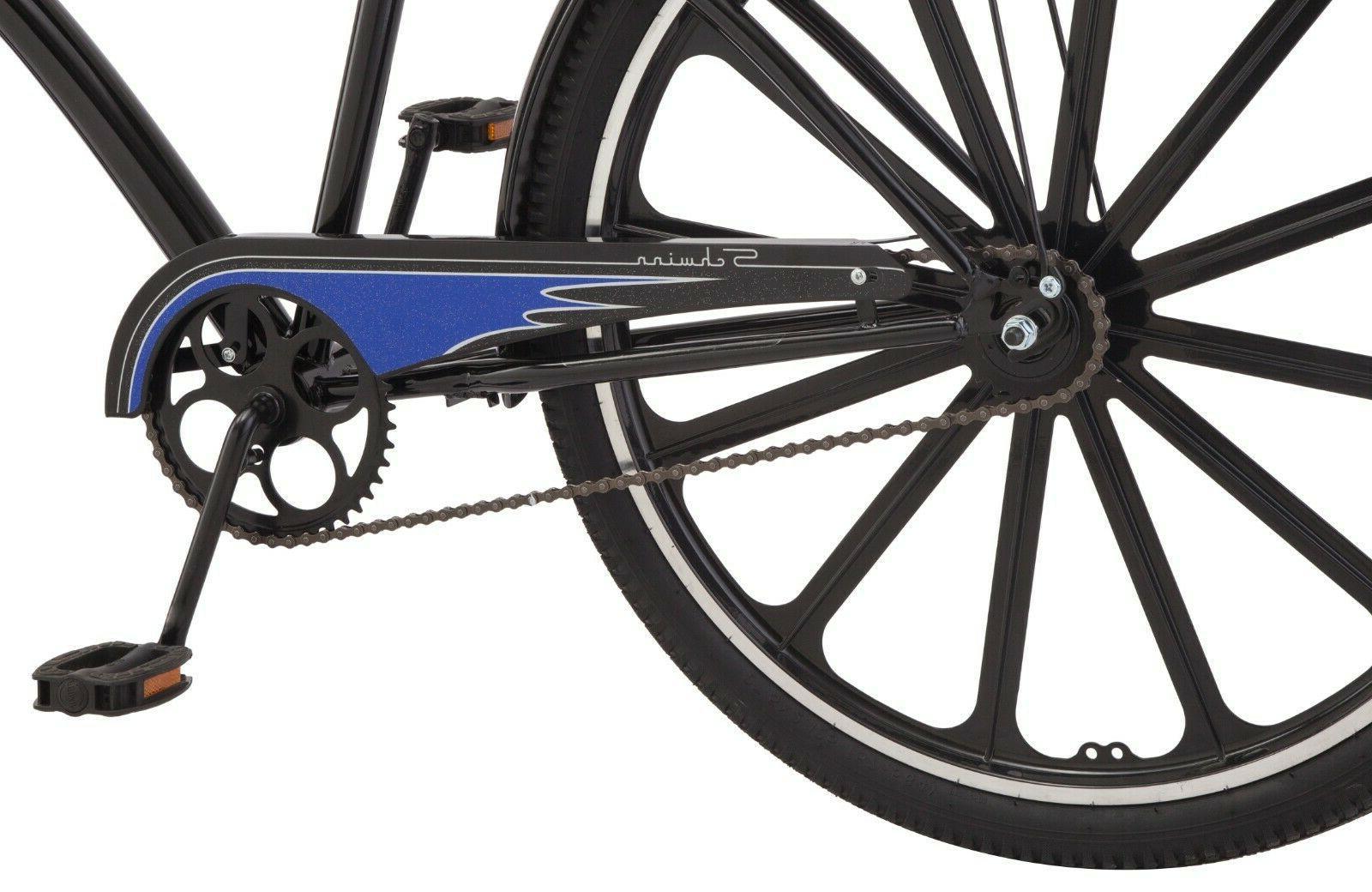 Schwinn 27.5 Mens Classic Bike Handle Black Blue