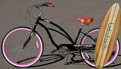 marina alloy 7 speed black pink aluminum