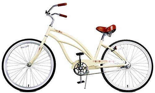 Fito Weight Aluminum Alloy Frame, women - wheel Beach Bicycle