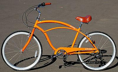 Fito Marina Aluminum 7-speed - Matte Light Weight Beach Bike
