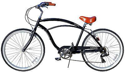 Fito Aluminum 7-speed - Matte Weight Mans Cruiser Bike