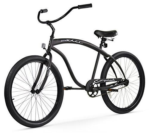 matte beach cruiser bicycle