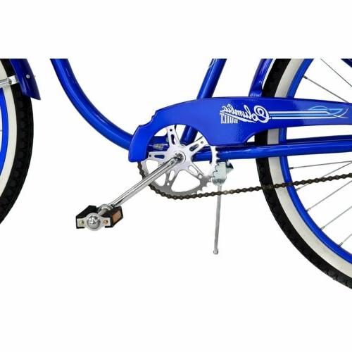 Men's Columbia 26-Inch Beach Retro Cruiser Bicycle Blue