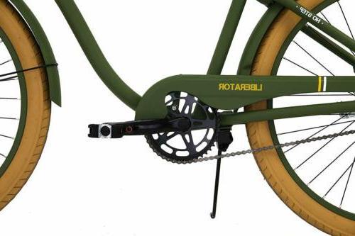 Men's Columbia Liberator 26-Inch Retro Cruiser Bicycle - Army