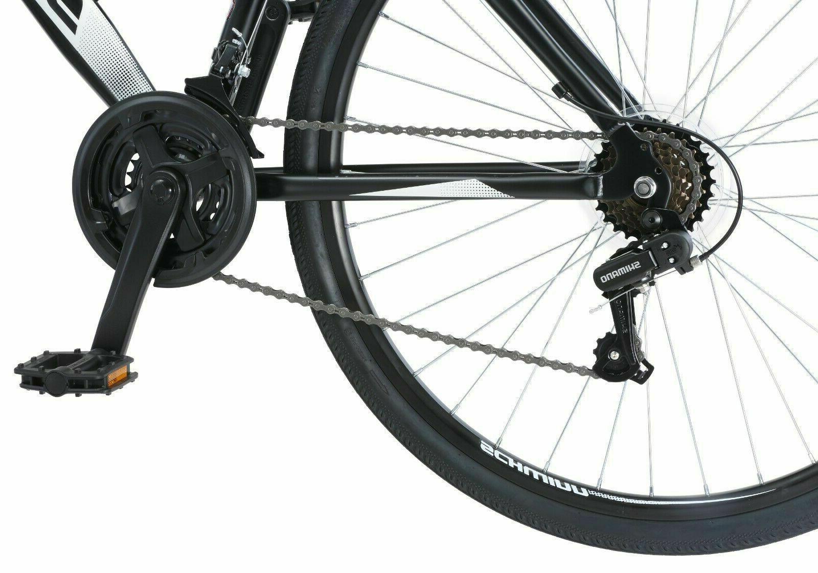 Schwinn Mens Speed Wheels Hybrid Road Bicycle