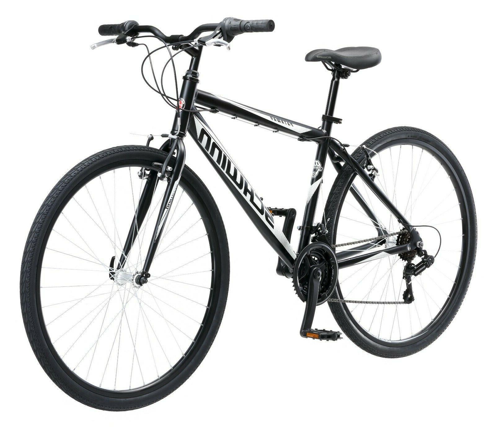mens bike 18 speed 700c wheels hybrid
