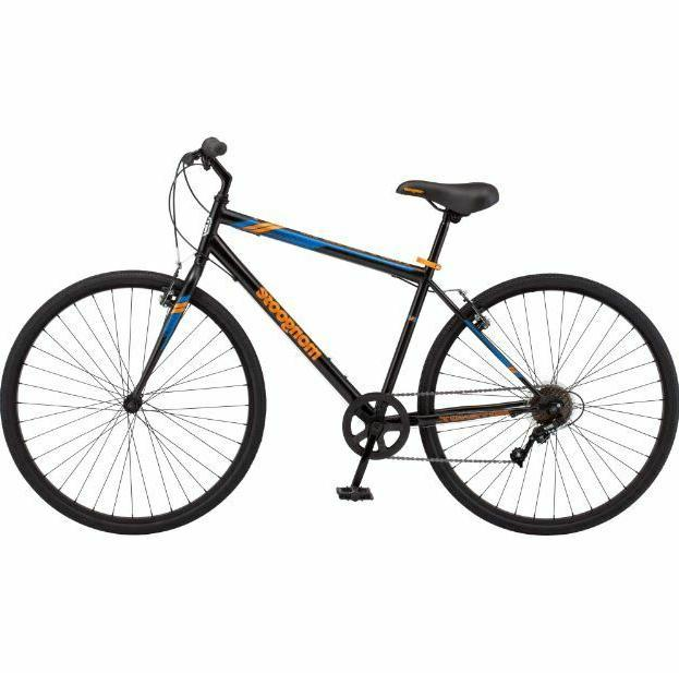 Mens Bike Commuter Bicycle Street City Cruiser Ride Workout