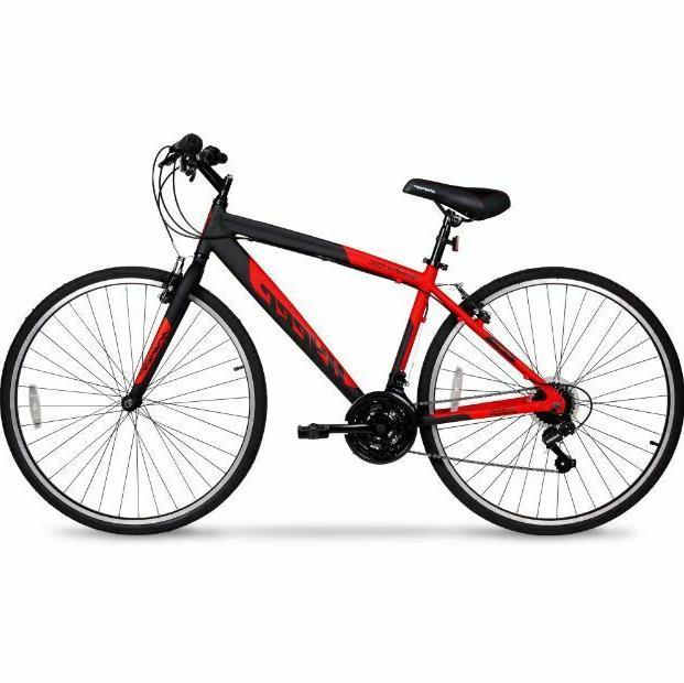 mens hybrid bike street urban city cruiser