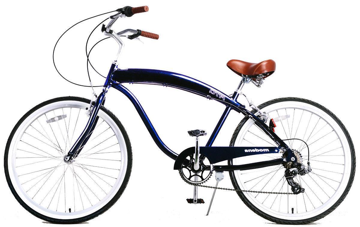 modena ii alloy 7 speed midnight blue
