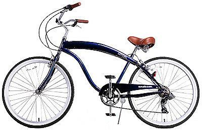 "Fito 7-speed - Black, Men's 26"" Cruiser Bike"