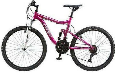 Mongoose Bike Pink Girl Aluminum Trail Ride