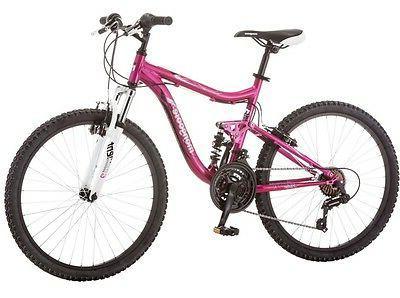 """Mongoose 24"""" Pink Girl Trail Ride"""