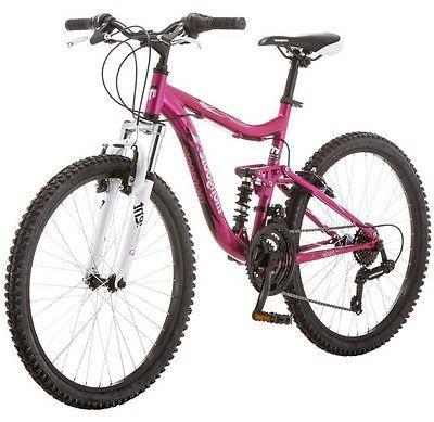 Mongoose Pink Girl Ride Shimano
