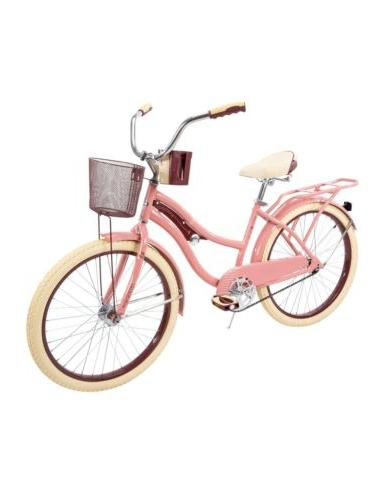 new 24 nel lusso girls cruiser bike