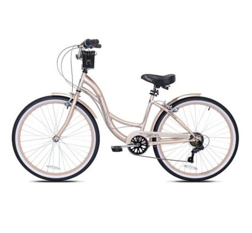 """NEW 26"""" WOMEN'S GOLD 7 SPEED SHIPPING🚨"""
