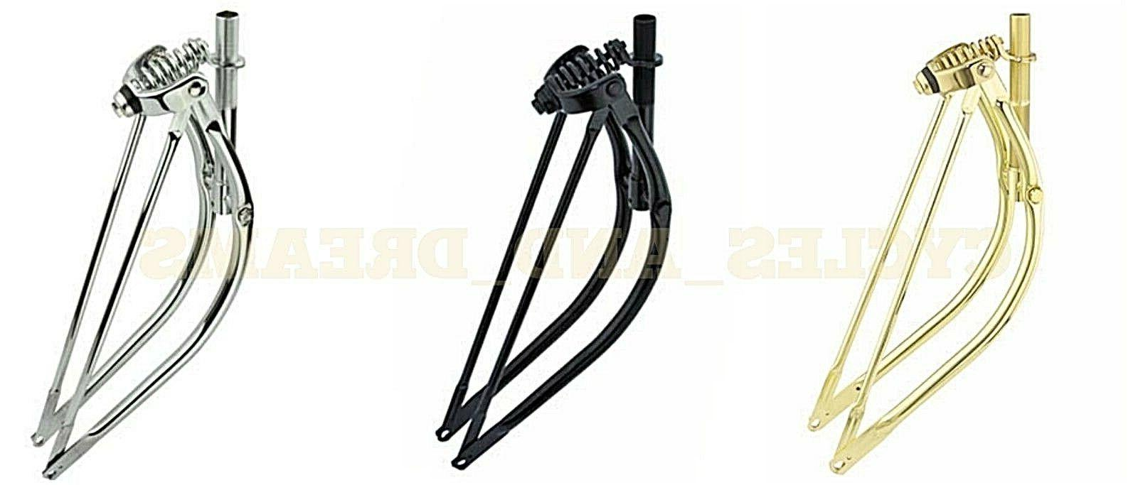 new bicycle bike 26 bent spring fork