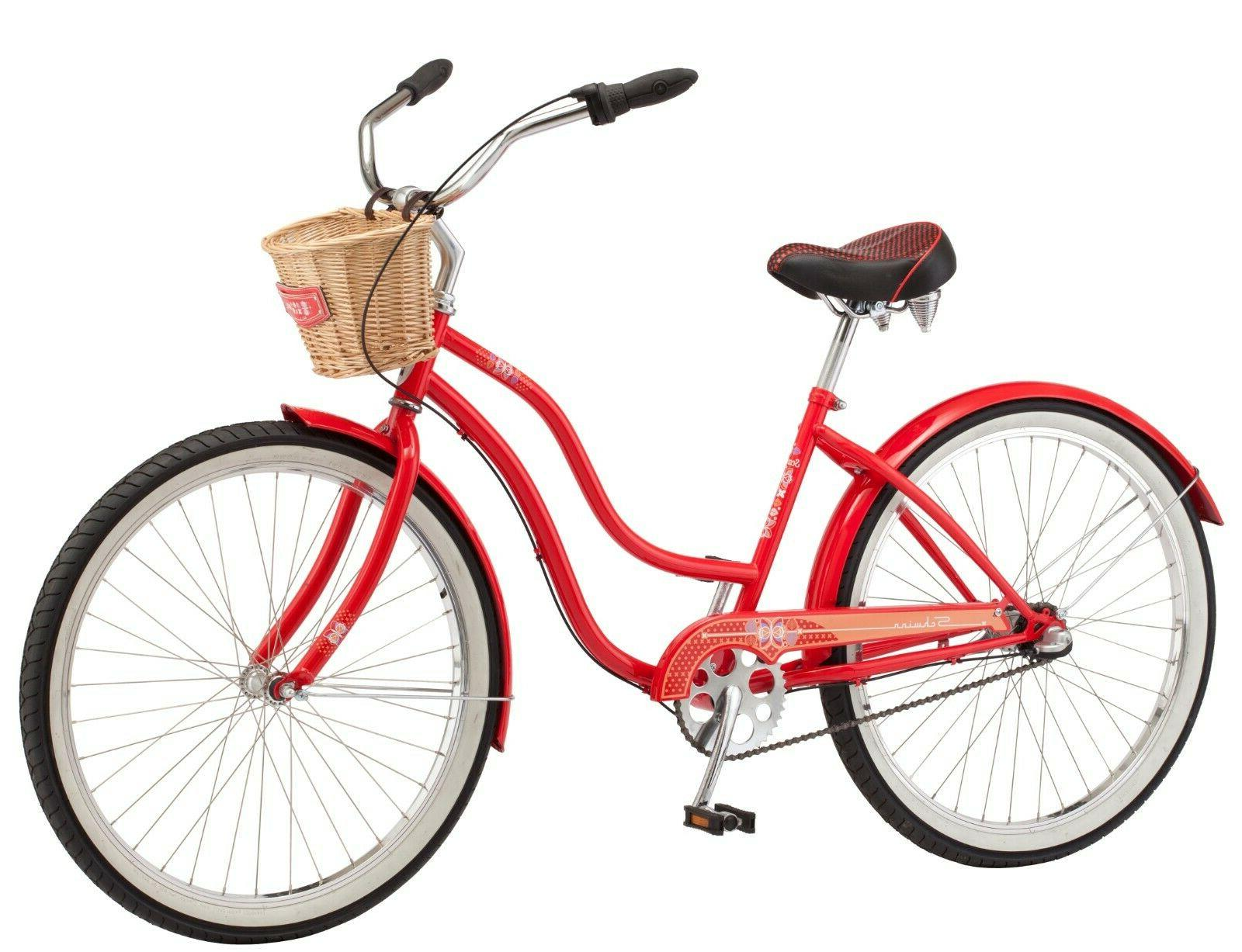 NEW Schwinn 26-inch Steel Bike-Red