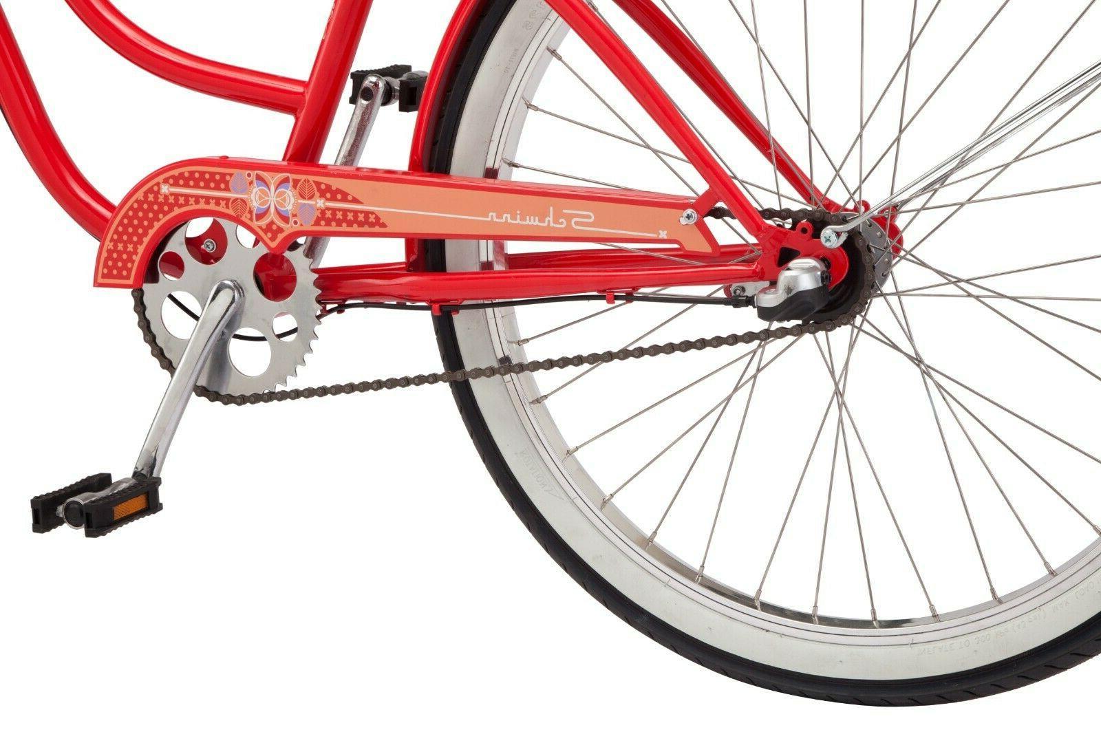 NEW Womens 26-inch Bike-Red