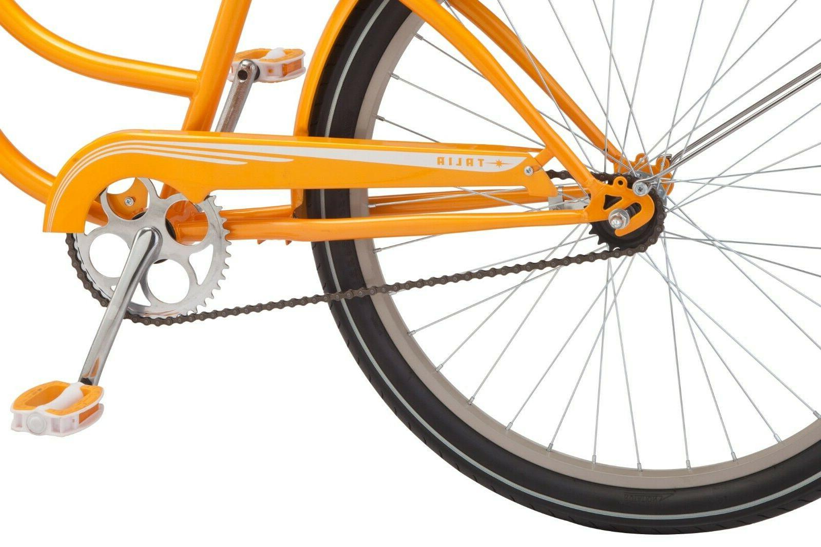 NEW 26-inch Steel Cruiser Bike-Orange