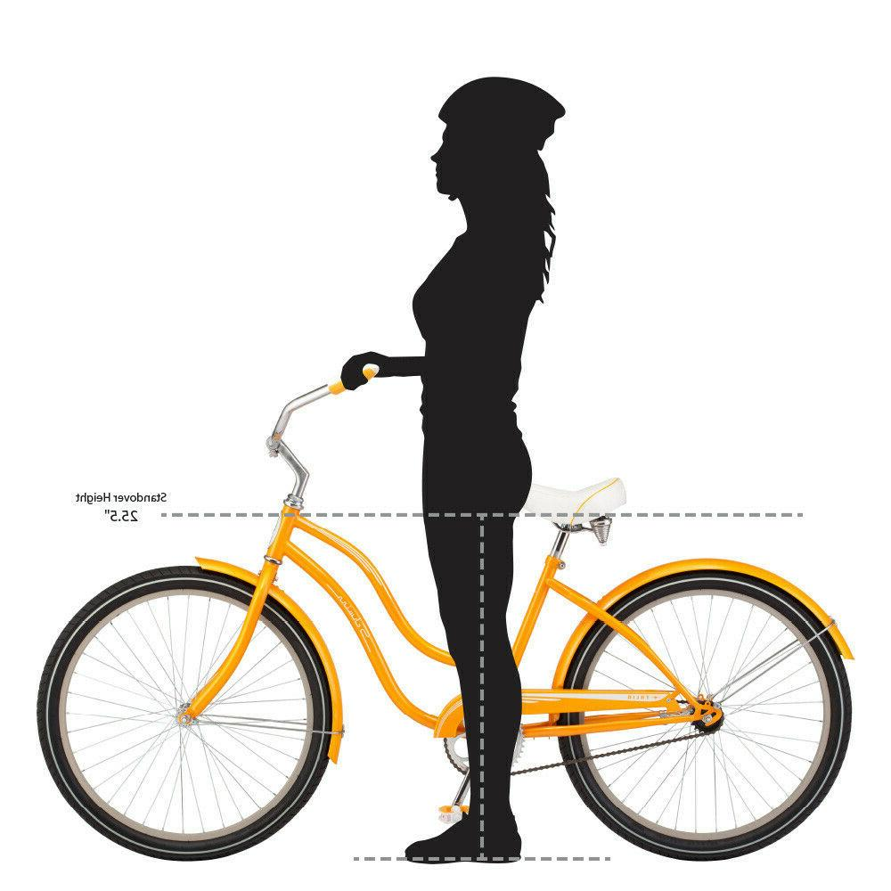 NEW 26-inch Cruiser Bike-Orange