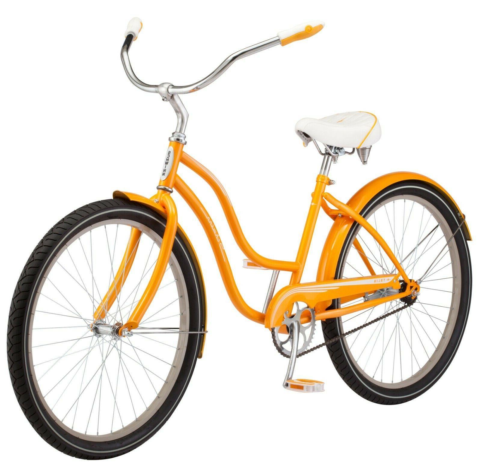 NEW Schwinn 26-inch Steel Frame Bike-Orange