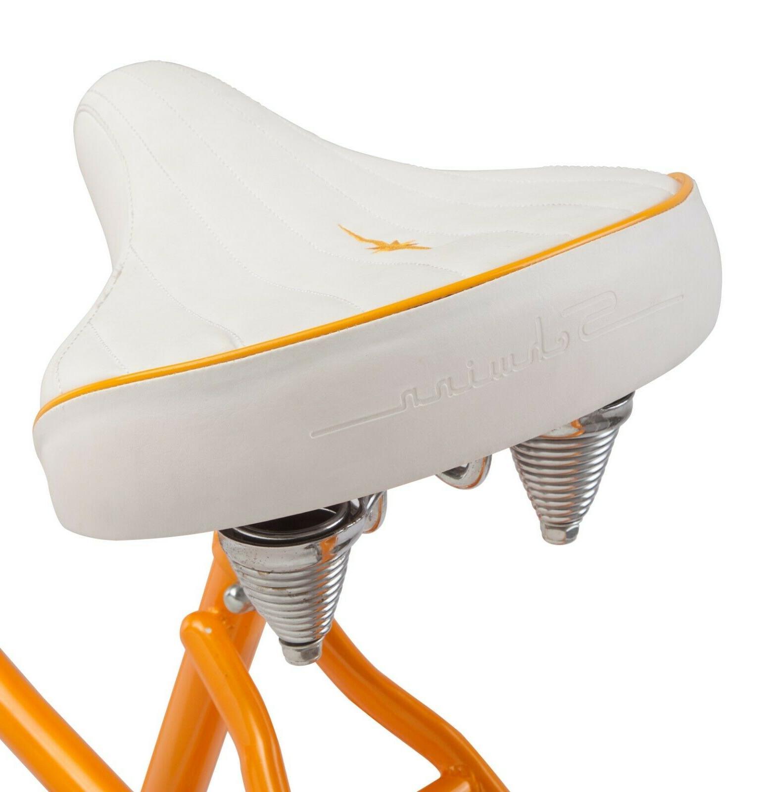 NEW 26-inch Steel Frame Bike-Orange