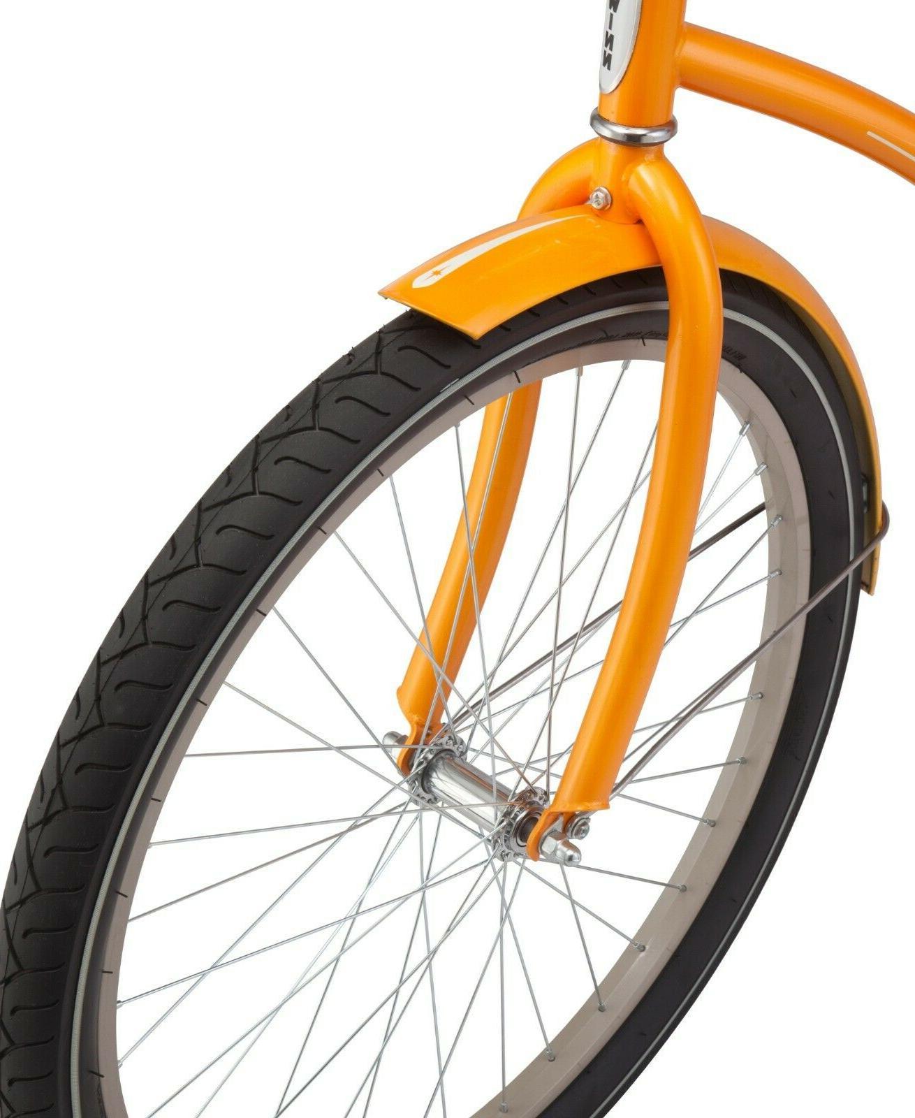 NEW 26-inch Frame Cruiser Bike-Orange